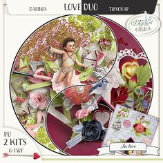 DUO In Love by Dafinia Designs and Tifscrap http://digital-crea.fr/shop/index.php?main_page=product_info&cPath=368&products_id=23253