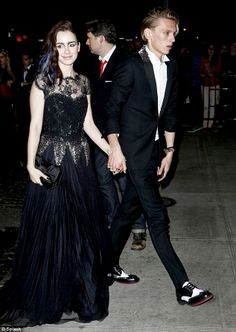 #Lily Collins & Jamie
