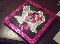 my decorated cap for Texas A&M graduation. '14 WHOOP!!