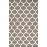 Found it at AllModern - Frontier Taupe/White Rug