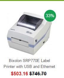 ORDER NOW !!!!! Bixolon SRP770E Label Printer with USB and Ethernet from OnlyPOS Au