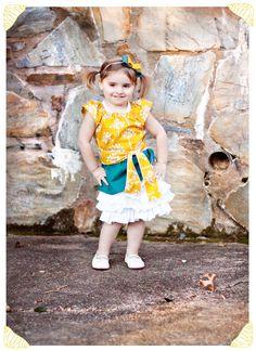 U R My Sunshine Dress Pattern and Tutorial