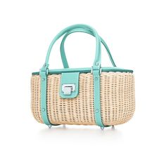 Tiffany straw handbag