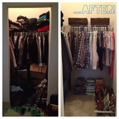 Closet therapy by The Occasional Wife!