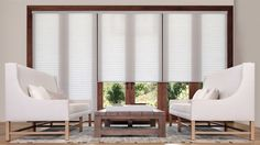 Don't want a vertical for your patio doors? Check out Sonnette Roller Shades made by Hunter Douglas. See more on our blog