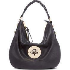 f5a2e851bf9 Mouse grey silver hardware Daria. Mulberry Hobo Bag, Mulberry Daria, Slouch  Bags,
