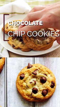 These chocolate chip cookies are the best chewy chocolate chip cookies you'll ever eat. They are chewy, sweet, and stay soft for days. Fun Baking Recipes, Cookie Recipes, Dessert Recipes, Pumpkin Recipes, Soft Chocolate Chip Cookies, Homemade Chocolate, Chocolate Chocolate, Yummy Food, Snacks