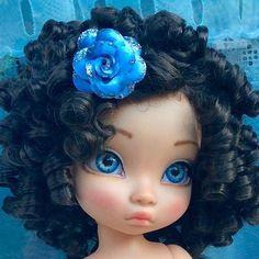 Doll Face Paint, Doll Painting, Disney Princess Dolls, Disney Dolls, Ooak Dolls, Art Dolls, Doll Hair Detangler, Newberry Dolls, Disney Animator Doll