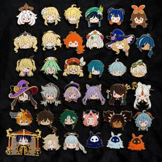 Stock Character, Albedo, Hard Enamel Pin, Cute Packaging, Cute Pins, Coordinating Colors, Free Stickers, Off Colour, Color Themes