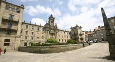 Hospedería San Martín Pinario Santiago De Compostela Located opposite Santiago de Compostela Cathedral, this converted monastery offers simple, bright rooms and a 24-hour front desk. Typical Galician dishes are served in its impressive vaulted dining room.