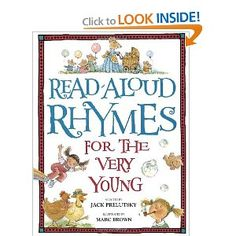 Amazon.com: Read-Aloud Rhymes for the Very Young (9780394872186): Jack Prelutsky, Marc Brown: Books