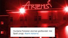 10 Gründe, warum ein Besuch im Mega-Puff Artemis jetzt (nicht) gut kommt - #Bordell, #Erotik, #Prostitution, #Puff, #Sex http://www.berliner-buzz.de/10-gruende-warum-ein-besuch-im-mega-puff-artemis-jetzt-nicht-gut-kommt/