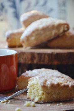 Copycat recipe for Panera Bread's Orange Scones.