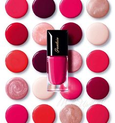 Guerlain COLOUR LACQUER Long-lasting Colour and Shine  for summer 2013