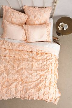 Basal Quilt - anthropologie.com... maybe in a grey bedroom