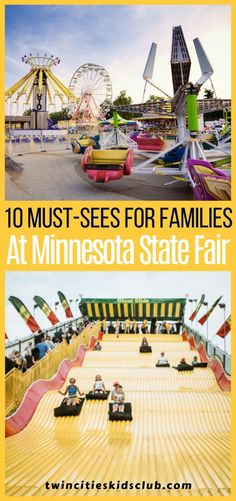 Twin Cities Kids Club Blogs: 10 Must-Sees for Families at the Minnesota State Fair 2017- It's that time again! The Great Minnesota Get-Together runs August 24th – September 4th, 2017, and our families are ready for the food, entertainment, rides and excitement! #kids #games #fungames #indoorgames #kids #kidsactivities #gameday #gameart #gamenight #kidsroomideas #kidscrafts #parents #parenting #parentingtips