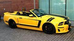 Convert Mustang