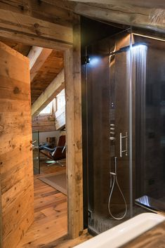Casa Masso - Arte Rovere Antico Building Extension, Chalet Interior, Mountain Style, Bathroom Inspiration, Cabana, Architecture, Decoration, Bad, Bathtub