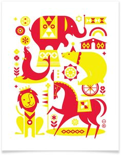 All sizes | Heartwork: Circus Print | Flickr - Photo Sharing!