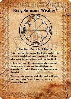 Pentacles King Solomon`s Seals Occult Symbols, Magic Symbols, Symbols And Meanings, Ancient Symbols, Viking Symbols, Egyptian Symbols, Viking Runes, Witchcraft Spell Books, Magick Book