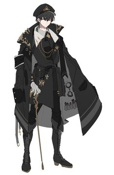 Fantasy Character Design, Character Design Inspiration, Character Concept, Character Art, Concept Art, Fille Anime Cool, Fashion Design Drawings, Character Design References, Boy Art
