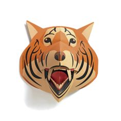 Djeco Pop Up Art Tiger Wall Decoration |  | Advice From a Caterpillar