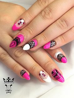 Fuxia lace nails  #nails💅 #nailart #fuxia #lacenails #handmadenailart💅 #jewellerynails💎 #nailsoftheday #nailsalon #nailsforlady💖 #fashionnails #nailaddict #nails2inspire #nailaholic #nothingisordinary #nailartist #marinaveniou #nailartseminars #trusttheexperts #beautymakesyouhappy  www.kalliopeveniou.gr