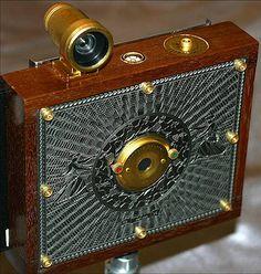 Victorian / steampunk pinhole camera by mark_2010, via Flickr