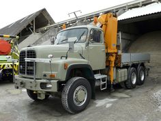 ▐ SAURER D330-B 6X6 #SAURER_D330_B_6X6 Trucks, Crane, Transportation, Vehicles, Vintage, Bern, Truck, Rolling Stock, Swiss Guard
