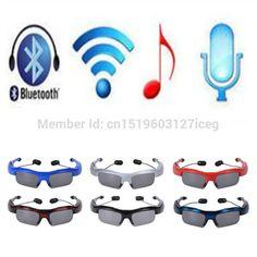 Bluetooth Sunglasses Earphone Wireless Sport Smart Glasses Headset Headphone Music Earpuds Microphone Airpods for xiaomi huawei