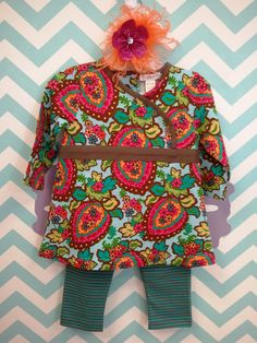 This outfit is adorable! So many different colors and beautiful patterns!