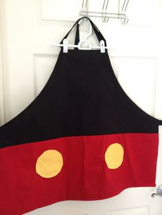 Mickey Mouse costume apron