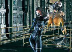 Cyberpunk, Futuristic, Techninja: Ultimate Assassin by shaft73 on deviantART