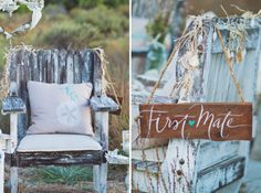 Shabby Chic Nautical Wedding Inspiration