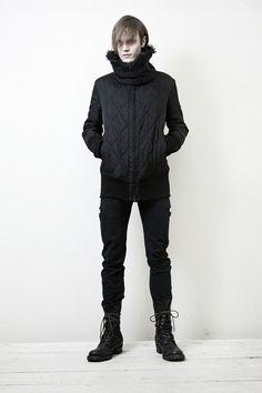 NUDE MASAHIKO MARUYAMA, AW11: puffy jackets. #nude_masahiko_maruyama #outerwear