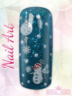Christmas - Weihnachten Nail Art Design Inspiration Nr. 254 #christmas #weihnachten #santa-claus #nail-art #nailart #winter-holidays