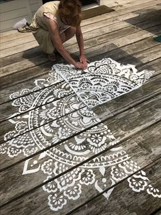 mandala stencils holy mandala D. make your own mandala www. - - mandala stencils holy mandala D. make your own mandala www.mandala-stenc… Wohnideen mandala stencils holy mandala D. make your own mandala www. Garden Projects, Wood Projects, Woodworking Projects, Garden Crafts, Craft Projects, Stencils Mandala, Make Your Own, Make It Yourself, How To Make