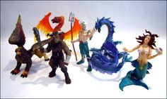 Using Safari Ltd® Miniatures in Dungeons and Dragons | Hugh Fox III