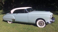 1949 Oldsmobile 98 Holiday Sport Coupe..handsome and sturdy....