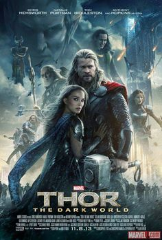 New poster poster released by Marvel for Thor: The Dark World.