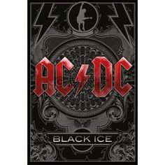 Poster: AC/DC - black ice zum Verkauf online. Bestellen Sie Ihre Poster, Ihre 3D Film-Poster oder ähnliches interessantes Maxi Poster
