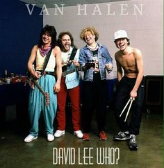 Love this picture!!! Van Halen ❤️ 😘 1986 5150 Tour Eddie and Alex Van Halen… Van Halen 2, Eddy Van Halen, Van Halen 5150, Alex Van Halen, Sammy Hagar Van Halen, Van Hagar, Red Rocker, Best Guitarist, Greatest Rock Bands
