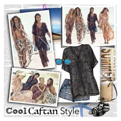 Cool CAFTAN Style by stylepersonal on Polyvore featuring polyvore, fashion, style, Mint Velvet, Kate Spade, MANGO, H&M and caftanstyle