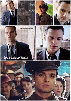 James Buchanan Barnes/Sebastian ⭐ Stan created by Kimberlydyan