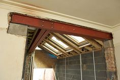 Removing Load Bearing Internal Walls - Things to Know! Kitchen Extension Glass, Side Return Extension, House Extension Design, Extension Ideas, Load Bearing Wall, Building Contractors, Steel Beams, House Siding, House Extensions