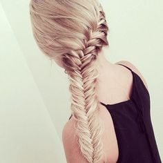 Fishtail French braid ღ