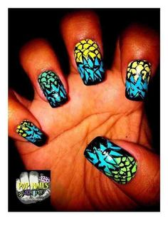 Nails by @POPnails_NbyS    Are your nails more styled than your outfit? Do you have more art on your fingertips than your walls? Is your stash of polish taking over every cupboard in your house? Sounds like you could have an Obsessive Fashion Disorder.     Email us a picture of your nail designs to OFD@asos.com or tweet us a pic with the hashtag #ASOSOFD and the coolest, craziest and most creative pics will be to be diagnosed with OFD will be posted on the ASOS Pinterest.