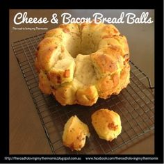 Cheese and Bacon Bread Balls