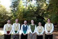One wedding to rule them all: a Lord of the Rings fantasy - ZOMG they look like hobbits. I now want to do this sooo badly.
