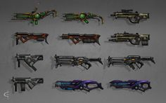 Gun concepts by Earl-Graey on DeviantArt